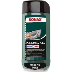 Sonax Polish & Wax Color Green