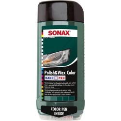 Sonax Polish & Wax Color Green