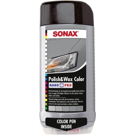 Sonax Polish & Wax Color Silver
