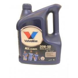 Valvoline All-Climate Oil 20W50 4L