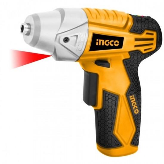 INGCO Cordless Screwdriver 4.8V